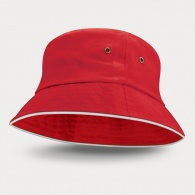 Bondi Premium Bucket Hat (White Sandwich Trim)