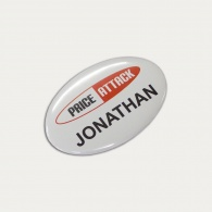 Button Badge Oval (65 x 45mm)