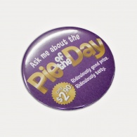 Button Badge Round (75mm)