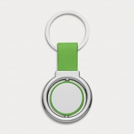 Circular Metal Spinner Key Ring