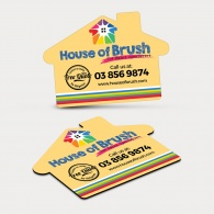Fridge Magnet 70mm x 50mm (House Shape)