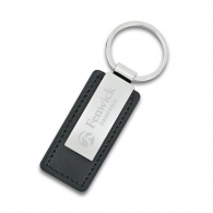 Leatherette Key Ring