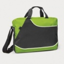 Centrix Conference Satchel+Bright Green