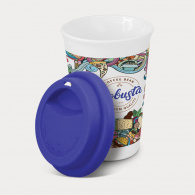 Aztec Double Wall Coffee Cup (Full Colour) image